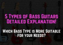 types of bass guitars