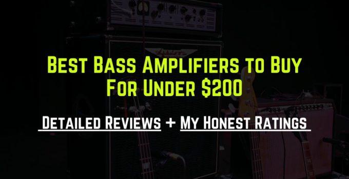 best bass amp under 200