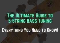 5 string bass tuning